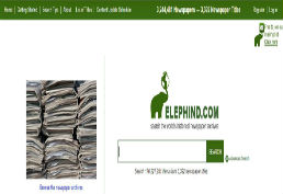 Elephind screenshot