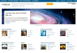 Explora Public Libraries Screenshot