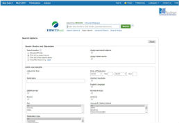MEDLINE screenshot
