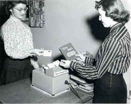 Gaylord automatic checkout machine